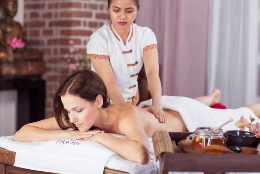 Olejová relaxační masáž