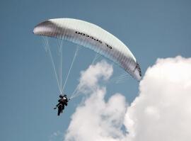 Paragliding – tandemový let Exclusive s DVD