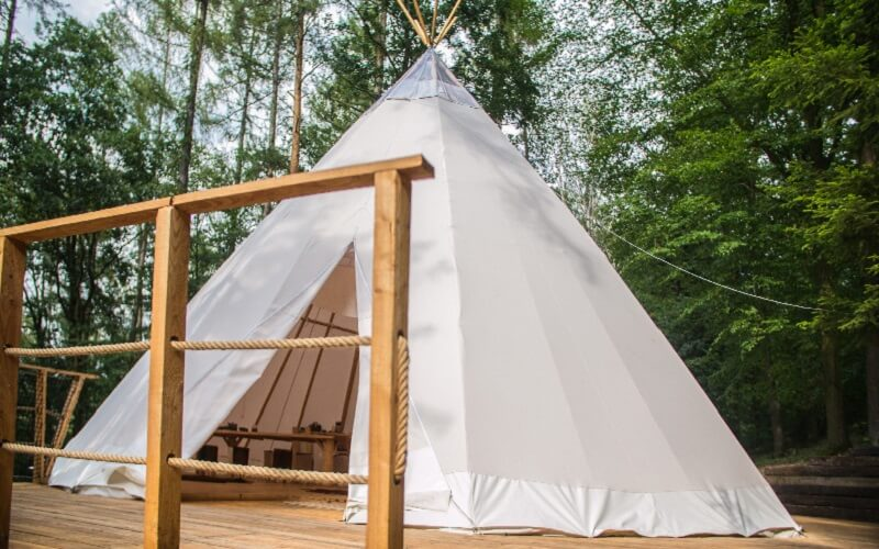 Wellness romantika v Teepee & Spa