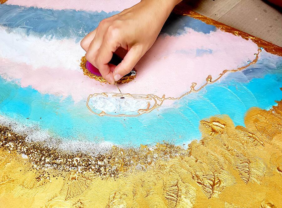 Arteterapie – namaluj si svůj obraz