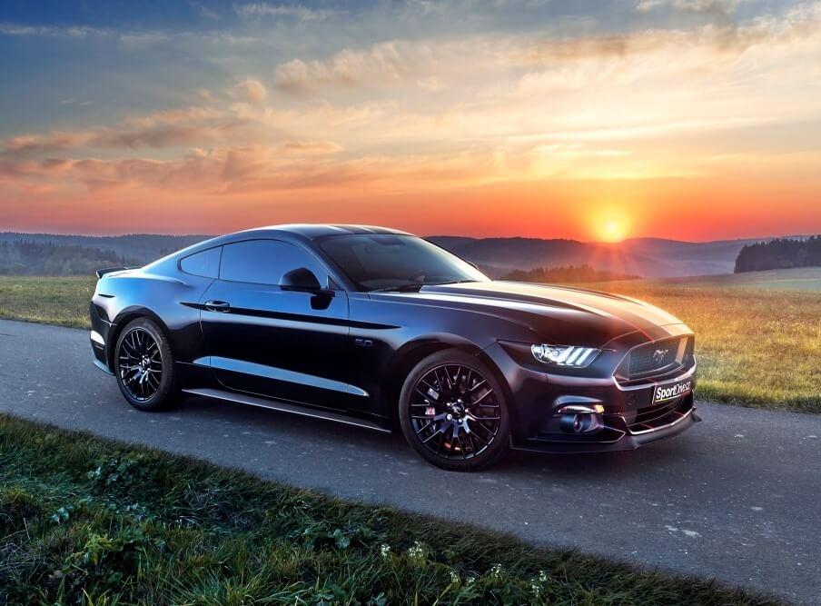 Levně Jízda ve Ford Mustang GT 5.0 - 15 minut
