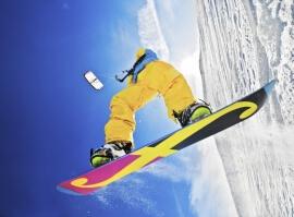 Dvoudenní kurz snowkitingu s ubytováním