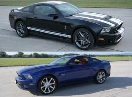 Ford Mustang GT5.0 vs. Mustang GT500