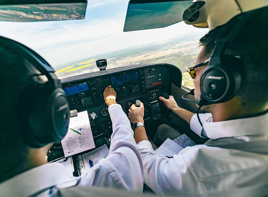 Letecký zážitek – staň se pilotem