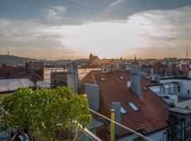 SPA s výhledem na Pražský hrad