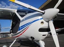Pilotem na zkoušku ultralightu - 10 minut