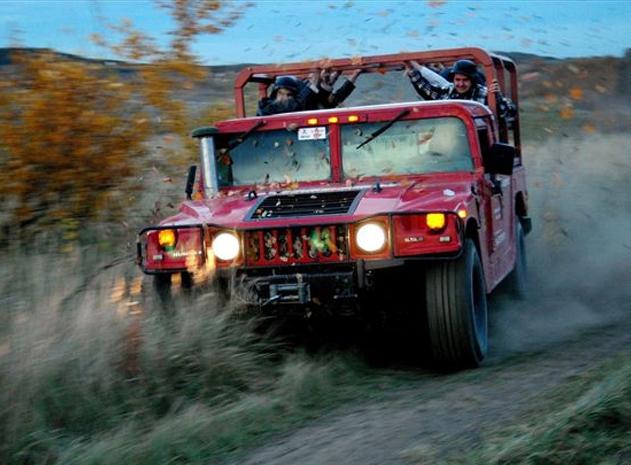 Divoká jízda Hummerem 2 v 1