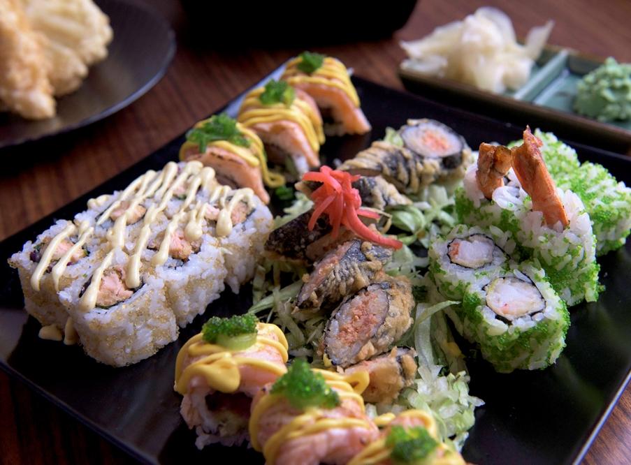 Japonské menu pro dvě osoby
