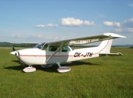 Vyhlídkový výlet americkým letounem C172