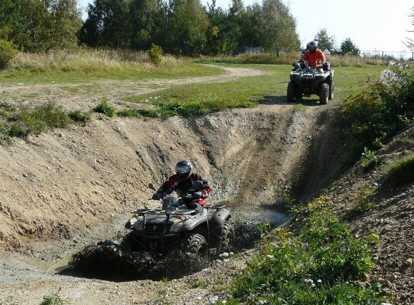 Extreme jízda na čtyřkolkách pro dva