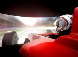 Simulátor Formule 1 pro dva - 30 minut