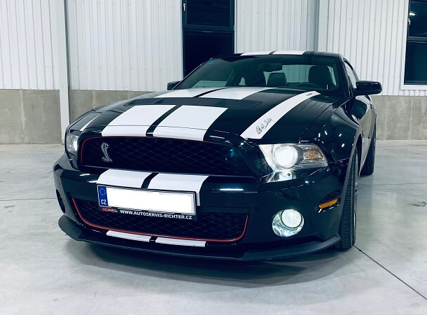 Jízda ve Ford Mustang GT500 SHELBY