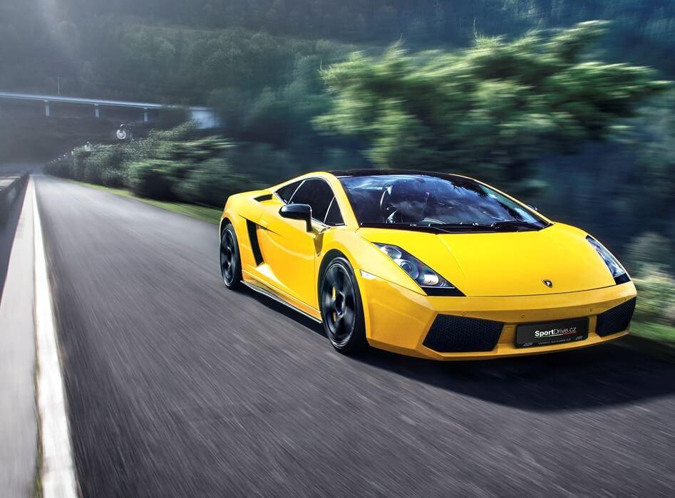 Jízda v Lamborghini Gallardo - 10 minut -