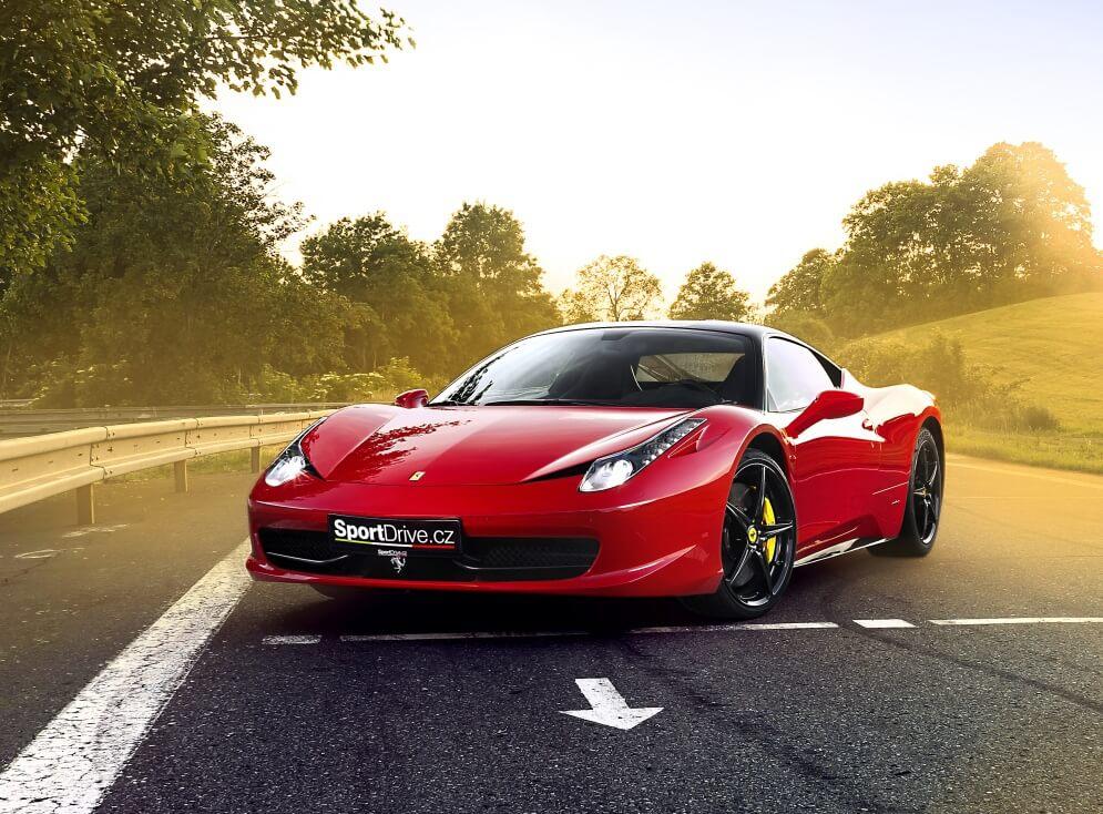 Jízda ve Ferrari 458 Italia - 20 minut -
