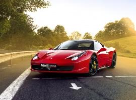 Jízda ve Ferrari 458 Italia - 20 minut