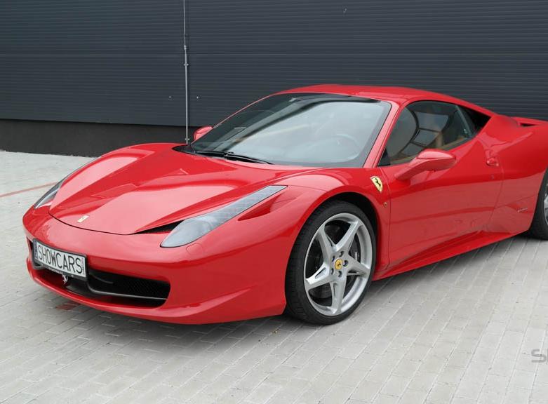 Silniční jízda ve Ferrari 458 Italia
