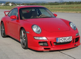 Porsche 911 Carrera GT3 – sprint na letišti