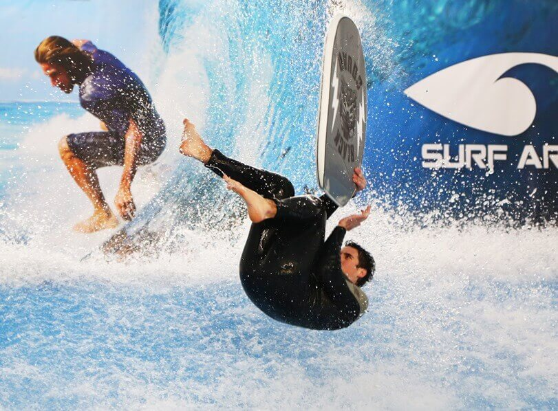 Double bodyboarding