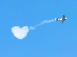 Romantický let do oblak