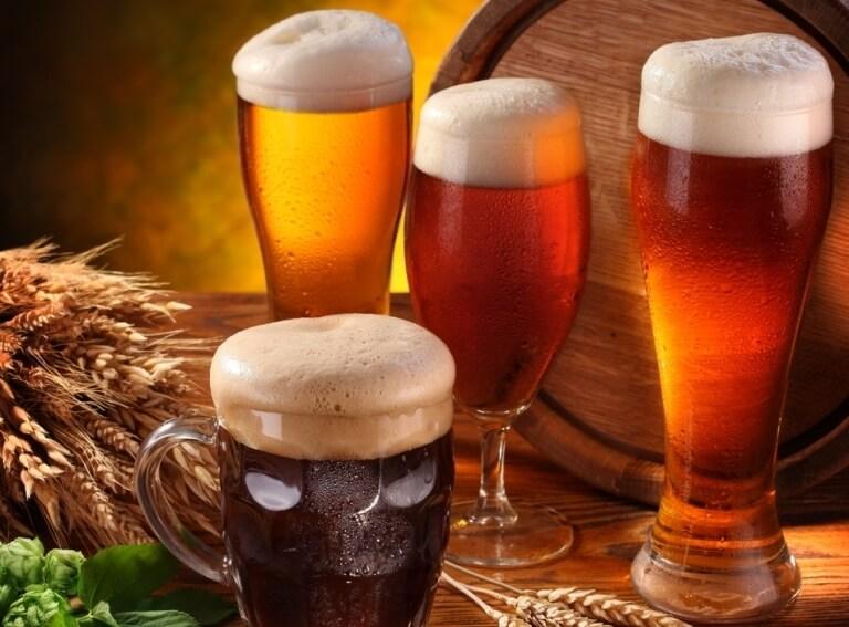 Pobyt v pivních lázních -
