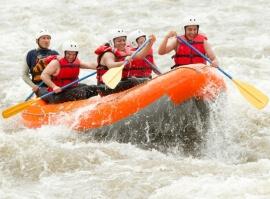 Rafting v peřejích aneb raftová akademie