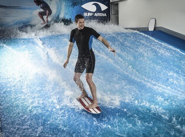 Indoor surfing - Surf aréna