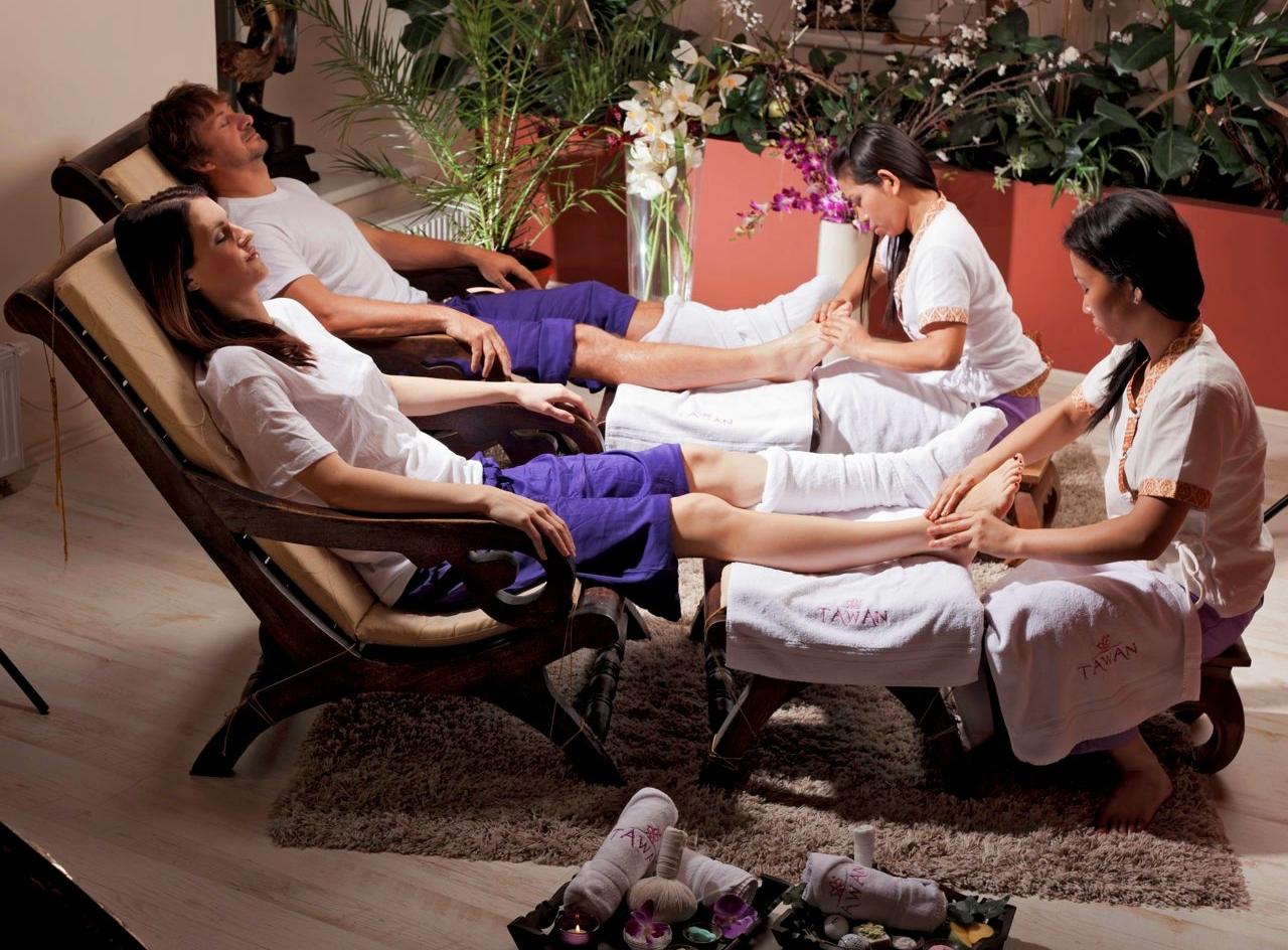 Relaxační masáž nohou