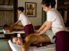 Thajská olejová masáž pro dva