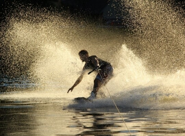 Wakeboarding - 15 minut