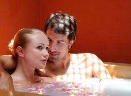 Zamilovaná relaxace pro pár
